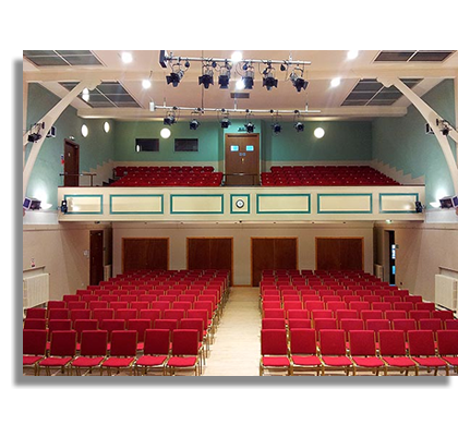 Blairgowrie Town Hall - location for Strathmore Screen, Blairgowrie & Rattray Cinema